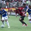 Vitória abre o placar, mas leva empate do Cruzeiro e segue perto da zona de rebaixamento