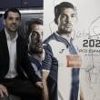 """Víctor Sánchez: """"Me imagino acabando mi carrera aquí"""""""