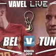 Jogo Bélgica x Tunísia AO VIVO hoje na Copa do Mundo 2018 (0-0)