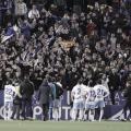 Jugadores del Real Zaragoza ante su afición | Foto: LaLiga