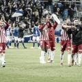 Jugadores saludando a la afición al final del encuentro | Fuente: La Liga