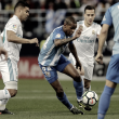 El Málaga con Madrid no es compatible