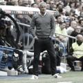 Setién en el partido en el Santiago Bernabéu | Foto: LaLiga Santander