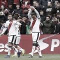 Raúl de Tomás celebrando su gol ante el Betis | Foto: LaLiga Santander