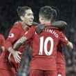 Liverpool bate West Bromwich Albion e chega a vice-liderança da Premier League