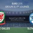 Pays de Galles-Slovaquie: Quelques points