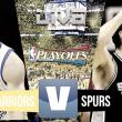 Golden State Warriors vs San Antonio Spurs en vivo y en directo online NBA 2017 (136-100)