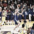 Los Warriors vencieron a los Lakers