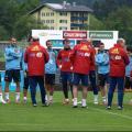 Los internacionales se ejercitan por primera vez en Schruns