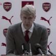 """Wenger: """"Empezamos bien, pero poco a poco hemos ido perdiendo la cohesión"""""""