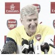 Arsène Wenger addresses the media ahead of crunch Norwich clash at Carrow Road