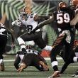 Los Browns dan un duro golpe en Cincinnati