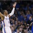 Un mostruoso Westbrook guida i Thunder alla vittoria su Dallas
