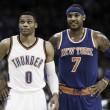 Knicks e Thunder entram em acordo por troca envolvendo Carmelo Anthony