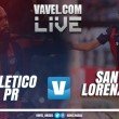 Resultado San Lorenzo x Atlético-PR pela Libertadores 2017 (0-1)