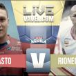 Deportivo Pasto vs Rionegro Águilas en vivo y en directo online por la Liga Águila 2017 (2-2)
