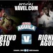 Previa Deportivo Pasto - Rionegro Águilas: a intentar seguir con el invicto en casa para el 'tricolor'
