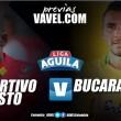 Deportivo Pasto vs Atlético Bucaramanga: 'volcánicos' y 'leopardos' en un partido decisivo