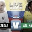 Once Caldas vs Atlético Nacional en vivo y en directo online por la Liga Águila 2017-II