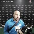 """Contento el """"Conejo"""" Pérez tras el empate"""