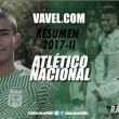 Resumen Atlético Nacional 2017-II: Raúl Loaiza, una esperanza en el mediocampo