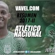Resumen Atlético Nacional 2017-II: Jeison Stiven Lucumí, chispazos de buen fútbol