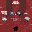 Em confronto regional, Atlético-PR terá o Caxias-RS como adversário na primeira fase da Copa do Brasil