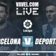 Barcelona x Deportivo La Coruña AO VIVO online pelo Campeonato Espanhol 2017 (0-0)
