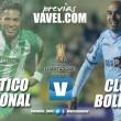 Previa Atlético Nacional vs Bolívar: Los 'verdes' quieren revancha