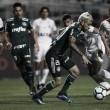 """Com direito a """"lei do ex"""", Santos e Palmeiras empatam em clássico movimentado no Pacaembu"""