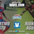 Previa Deportivo Pasto - Rionegro Águilas: regresa el fútbol al Libertad
