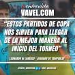 """Entrevista. Leonardo Di Lorenzo: """"Llegaron jugadores de jerarquía y de experiencia que serán muy útiles para la categoría"""""""