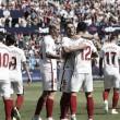 Los jugadores del Sevilla FC en el encuentro ante el Levante UD | Foto: Sevilla FC