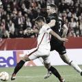 Ben Yedder anotando el 2-0 | Foto: Sevilla FC
