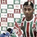 """Yony González traça objetivos no Fluminense: """"Fazer muitos gols e ficar na história no clube"""""""