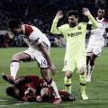 Lyon e Barcelona empatam sem gols em noite dos goleiros