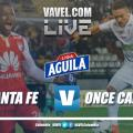 Independiente Santa Fe vs Once Caldas EN VIVO por la Liga Aguila 2019 (0-1)