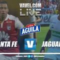 Resumen Independiente Santa Fe vs Jaguares de Córdoba por la Liga Aguila 2019-I (0-0)