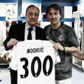 Modric cumple 300 partidos con el Real Madrid