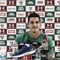 """Nino comenta titularidade momentânea no Fluminense: """"Continuar trabalhando"""""""