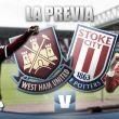 West Ham United - Stoke City: romper las tablas