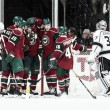 Minnesota Wild score three in second period to defeat Los Angeles Kings 6-3