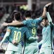 Trio MSN brilha e Barcelona goleia Eibar fora de casa