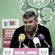 """Onésimo Sánchez: """"El equipo da la cara en las dos competiciones; eso es lo que yo valoro"""""""
