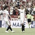 Wissam Ben Yedder celebrando un gol | Foto Sevilla FC