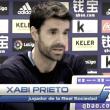 """Xabi Prieto: """"Me da mucha pena que haya gente que no vaya a poder disfrutar del partido y de la tamborrada"""""""