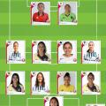 XI ideal de la J8. Liga MX Femenil.