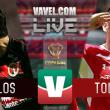 Resultado y goles del partido Xolos 2-0 Toluca en Copa MX 2018