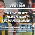 """Entrevista a Facundo Zabala: """"Espero una vez jugar en el Gigante"""""""