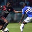 Sampdoria-Milan, KO per i rossoneri: le parole di Montella nel post-gara